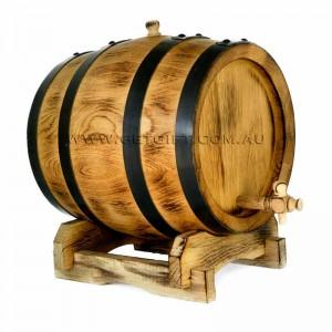 oak barrel charred 10 lts